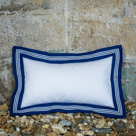 Sailor Cushion – White, Oblong