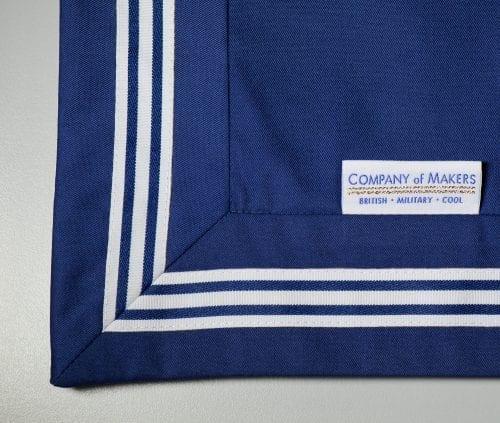 Sailor Cushion Mitre Detail