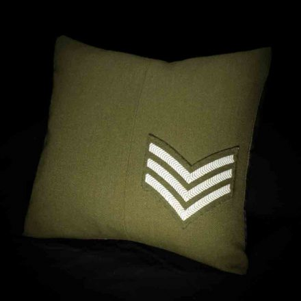 Army Sergeant Mini Cushion