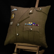 British Army REME Commissioned Cushion