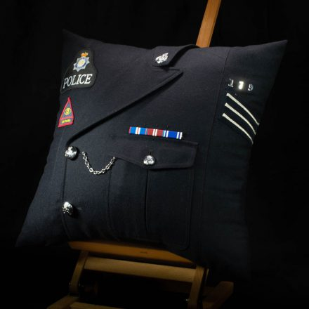 MoD Police Commissioned Cushion
