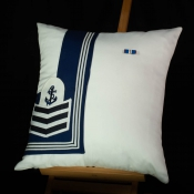 Royal Navy Commissioned Cushion