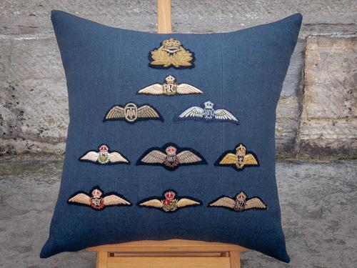 Testimonial: RAF Brevet Cushion - Company of Makers