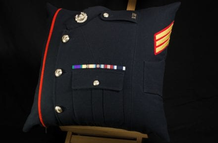 Royal Marine Sergeant Commissioned Cushion