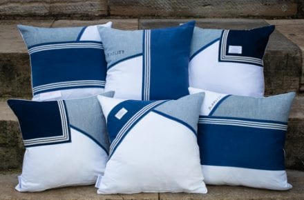 Royal Navy Rating Commissioned Cushion
