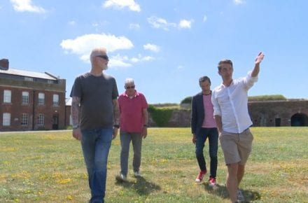 Veterans at Fort Cumberland 040719 CREDIT BFBS