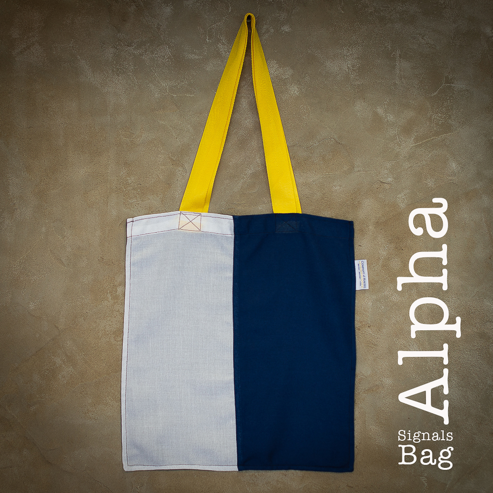 Signals Flag Tote Bag – Alpha