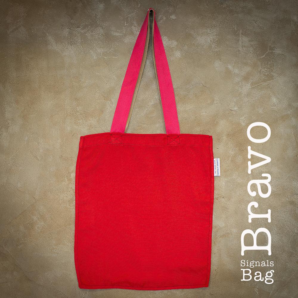 Signals Flag Tote Bag – Bravo