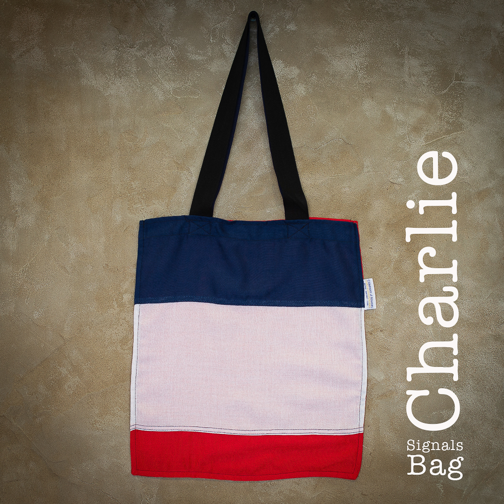 Signals Flag Tote Bag – Charlie