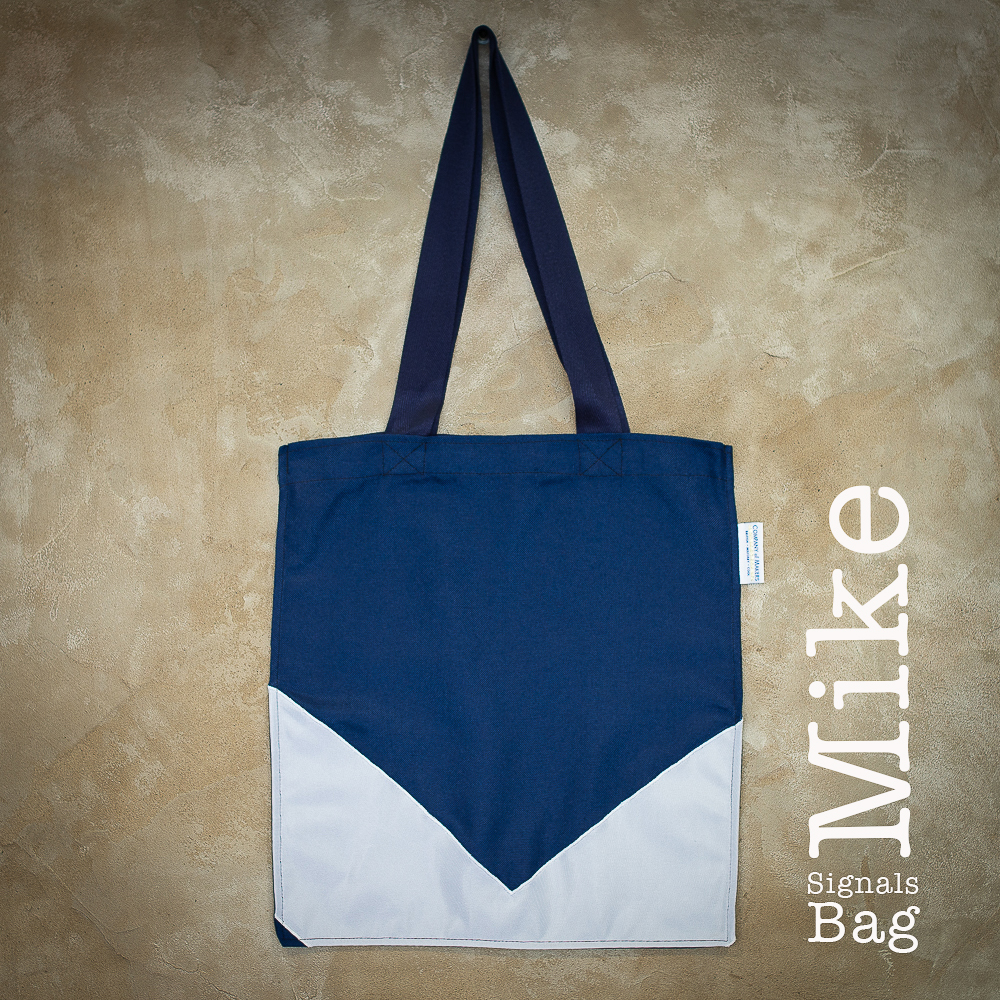 Signals Flag Tote Bag – Mike
