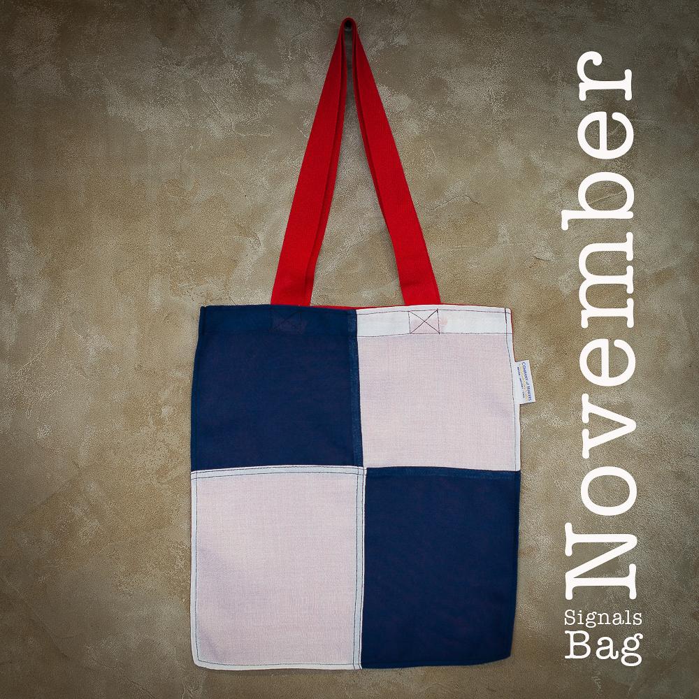 Signals Flag Tote Bag – November