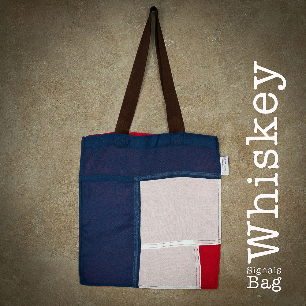 Signals Flag Tote Bag – Whiskey