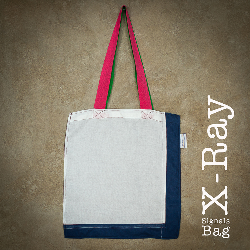Signals Flag Tote Bag – X-ray