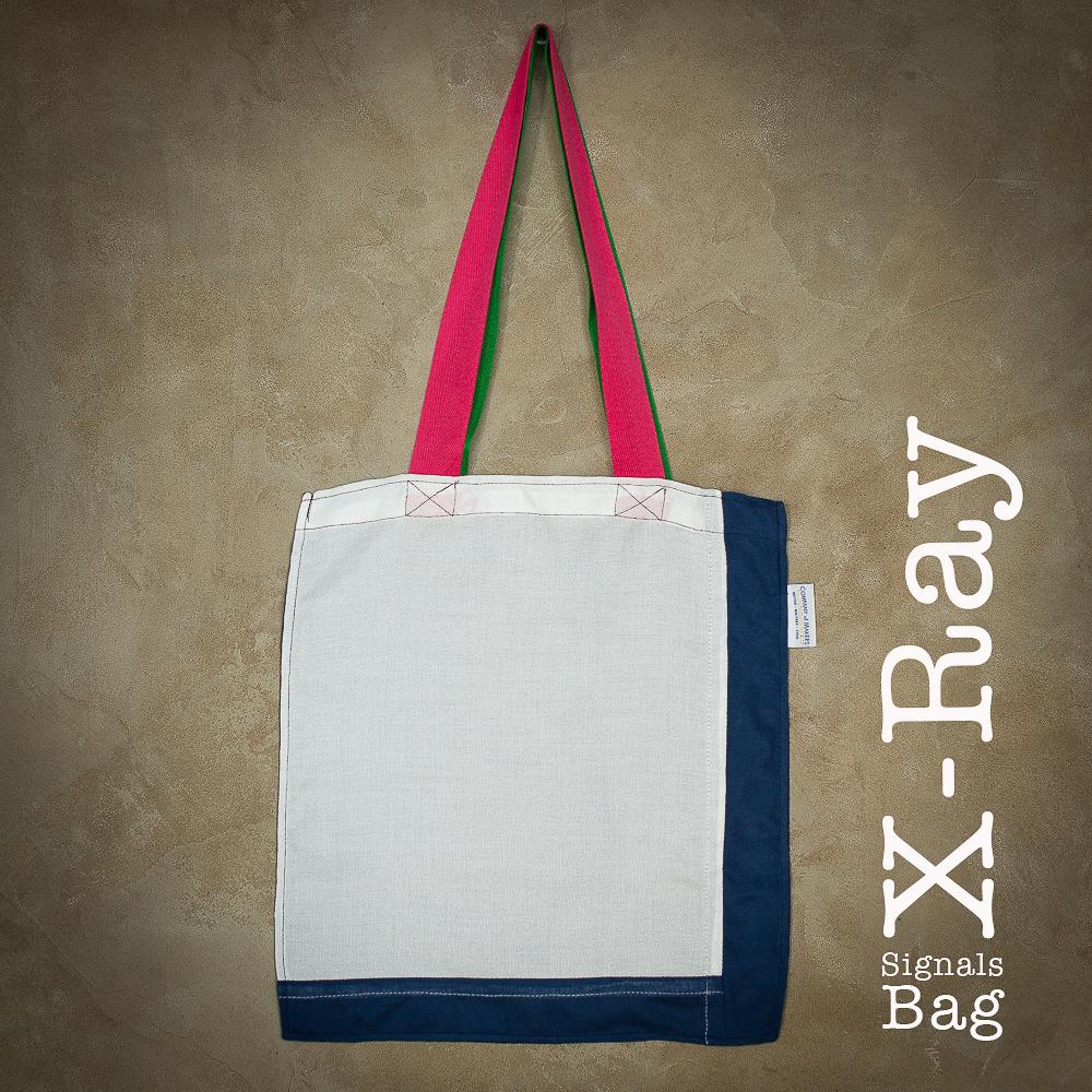 Signals Flag Tote Bag – X-ray