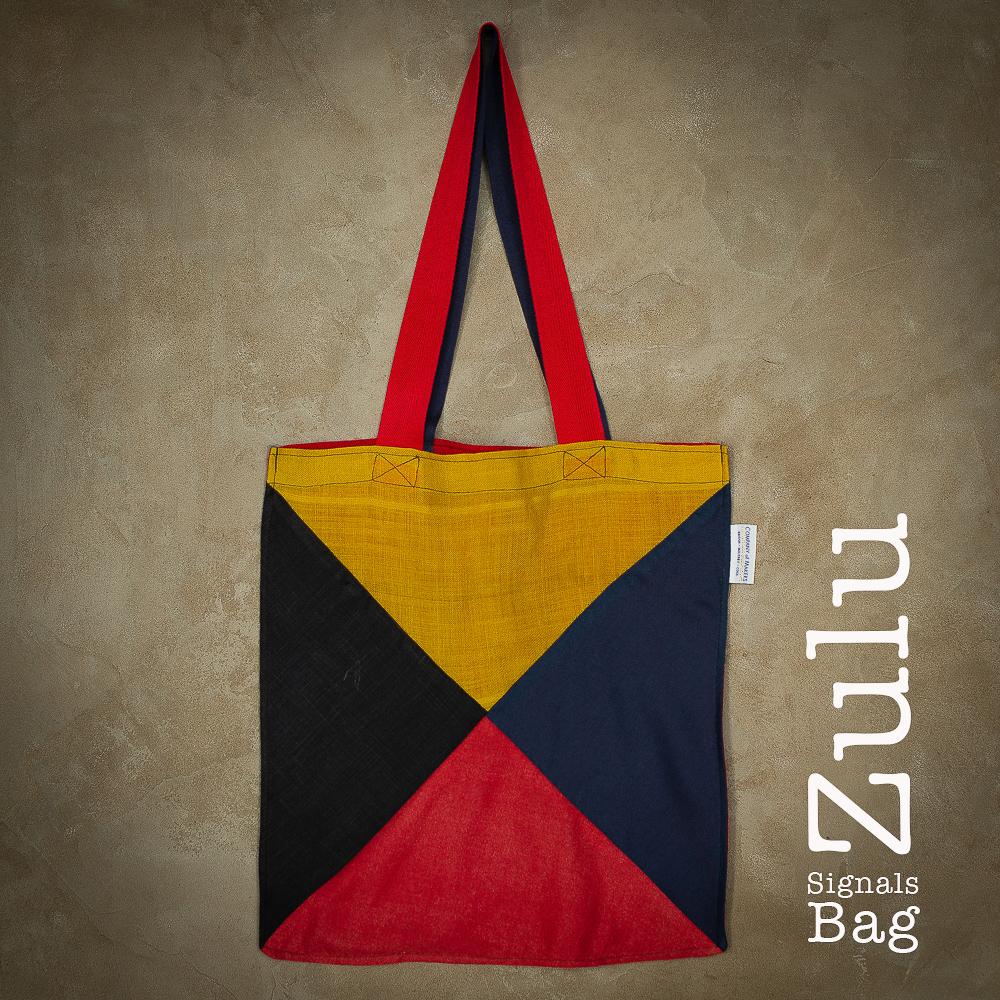 Signals Flag Tote Bag – Zulu