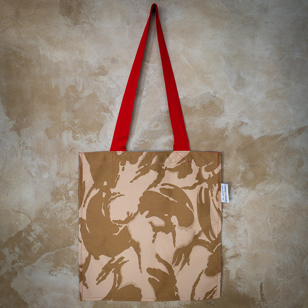 Desert DPM Tote Bag in Red