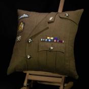 British Army REME Warrant Officer Cushion