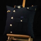 Royal Marine Blues Cushion