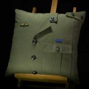Royal Marine Lovat Cushion