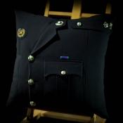 Royal Marine Major Blues Cushion