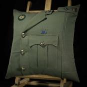 Royal Marine Major Lovat Cushion
