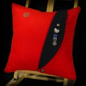 Royal Marine Major Mess Kit Cushion