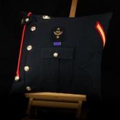 Royal Marines Lance Corporal Blues Cushion