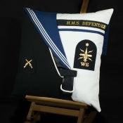 Royal Navy HMS Defender Cushion