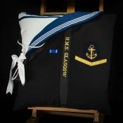 Royal Navy HMS Glasgow Cushion