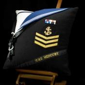 Royal Navy HMS Mercury Cushion
