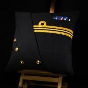 Royal Navy Lieutenant Commander Cushion