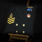 Royal Navy Police Cushion